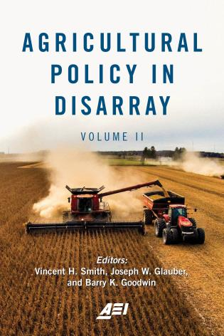 Cover image for the book Agricultural Policy in Disarray, Volume II