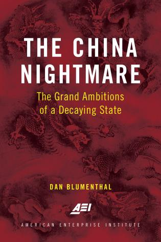 Cover image for the book The China Nightmare: The Grand Ambitions of a Decaying State