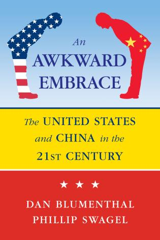 Cover image for the book Awkward Embrace: The United States and China in the 21st Century