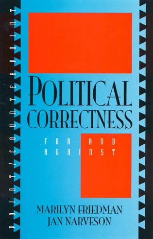 Cover image for the book Political Correctness: For and Against