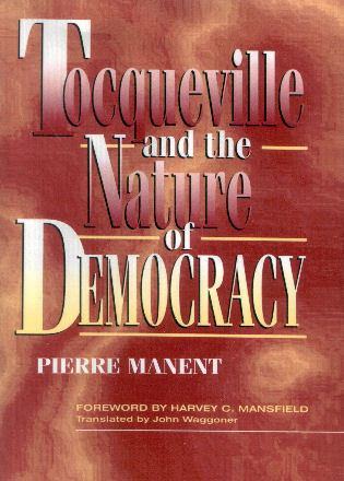Cover image for the book Tocqueville and the Nature of Democracy