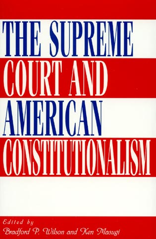Cover image for the book The Supreme Court and American Constitutionalism