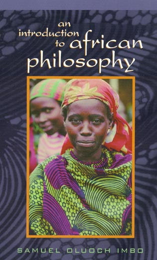 Cover image for the book An Introduction to African Philosophy