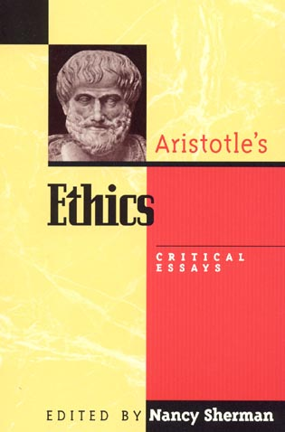 Cover image for the book Aristotle's Ethics: Critical Essays