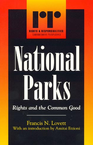Cover image for the book National Parks: Rights and the Common Good