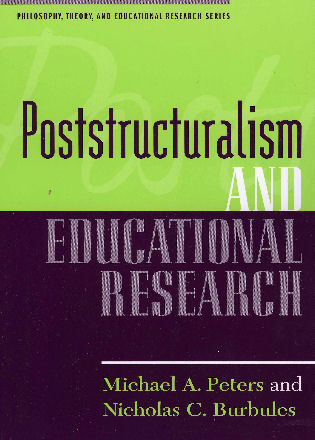 Cover image for the book Poststructuralism and Educational Research