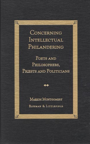 Cover image for the book Concerning Intellectual Philandering: Poets and Philosophers, Priests and Politicians, KDenn