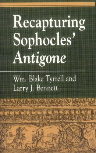 Cover image for the book Recapturing Sophocles' Antigone