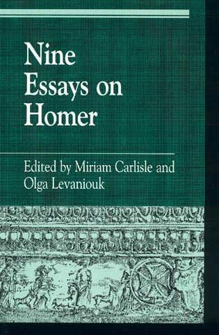 Cover image for the book Nine Essays on Homer