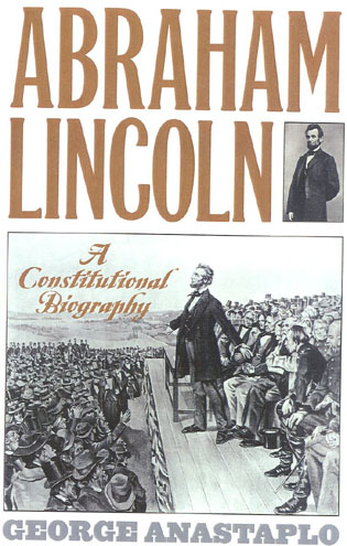 Cover image for the book Abraham Lincoln: A Constitutional Biography