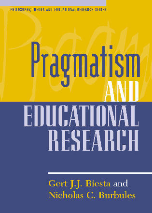 Cover image for the book Pragmatism and Educational Research