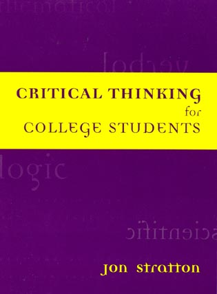 Cover image for the book Critical Thinking for College Students