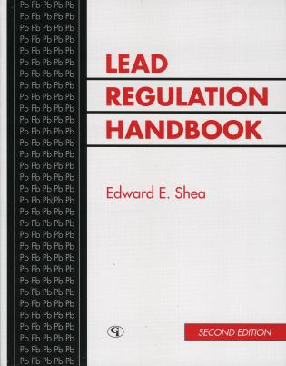 Cover image for the book Lead Regulation Handbook, Second Edition