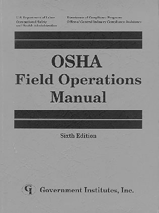 Cover image for the book OSHA Field Operations Manual, Sixth Edition