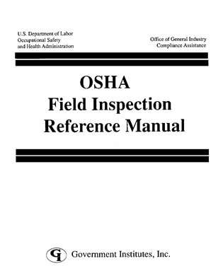 Cover image for the book OSHA Field Inspection Reference Manual