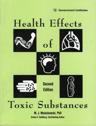 Cover image for the book Health Effects of Toxic Substances, 2nd Edition