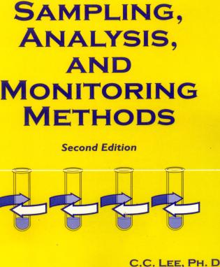 Cover image for the book Sampling, Analysis, and Monitoring Methods: A Guide to EPA and OSHA Requirements, Second Edition