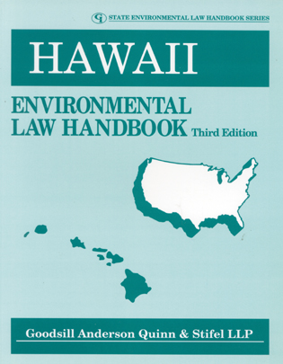 Cover image for the book Hawaii Environmental Law Handbook, Third Edition