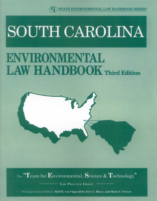 Cover image for the book South Carolina Environmental Law Handbook, Third Edition
