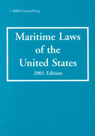 Cover image for the book Maritime Laws of the United States