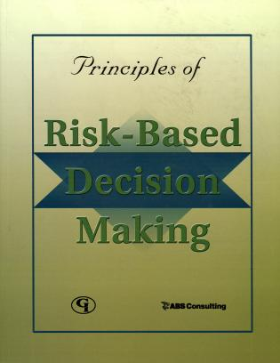 Cover image for the book Principles of Risk-Based Decision Making