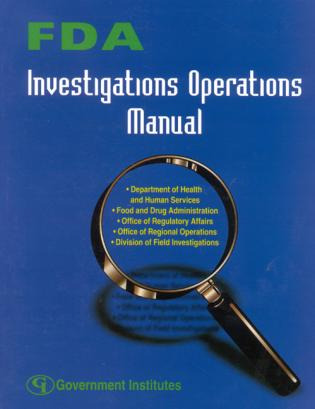 Cover image for the book FDA Investigations Operations Manual
