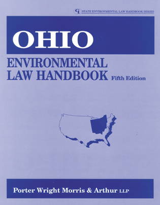 Cover image for the book Ohio Environmental Law Handbook, Fifth Edition