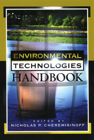 Cover image for the book Environmental Technologies Handbook
