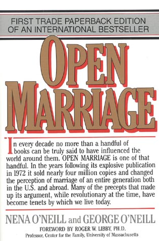 Cover image for the book Open Marriage: A New Life Style for Couples