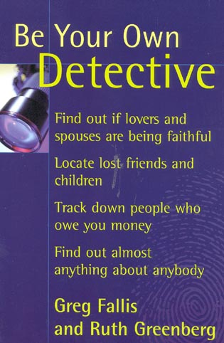 Cover image for the book Be Your Own Detective