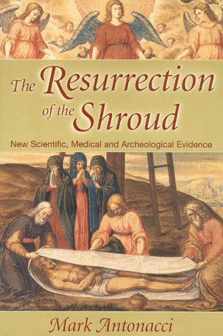 Cover image for the book Resurrection of the Shroud: New Scientific, Medical, and Archeological Evidence
