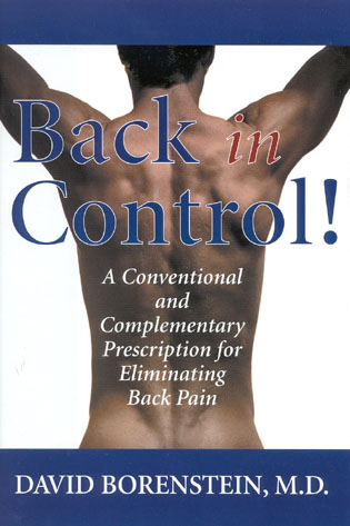 Cover image for the book Back in Control: A Conventional and Complementary Prescription for Eliminating Back Pain