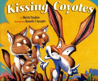 Kissing Coyotes