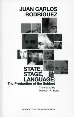 Cover image for the book State, Stage, Language: The Production of the Subject