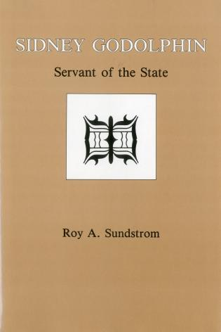 Cover image for the book Sidney Godolphin: Servant of the State