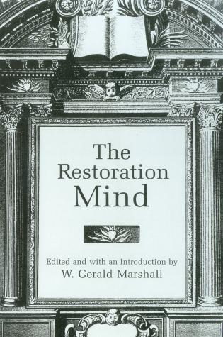 Cover image for the book The Restoration Mind