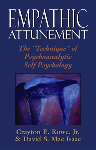 Cover image for the book Empathic Attunement: The 'Technique' of Psychoanalytic Self Psychology