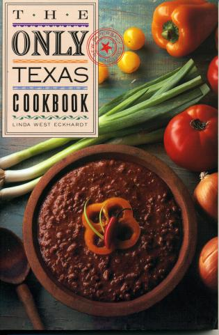 Cover image for the book The Only Texas Cookbook