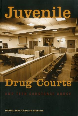 Cover image for the book Juvenile Drug Courts and Teen Substance Abuse