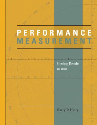 Cover image for the book Performance Measurement: Getting Results, Second Edition