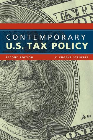 Cover image for the book Contemporary U.S. Tax Policy, Second Edition