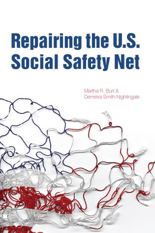 Cover image for the book Repairing the U.S. Social Safety Net