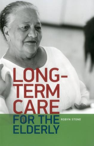 Cover image for the book Long-term care for the Elderly