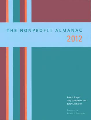 Cover image for the book The Nonprofit Almanac 2012