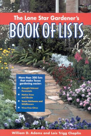 Cover image for the book The Lone Star Gardener's Book of Lists