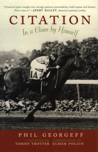 Cover image for the book Citation: In a Class by Himself
