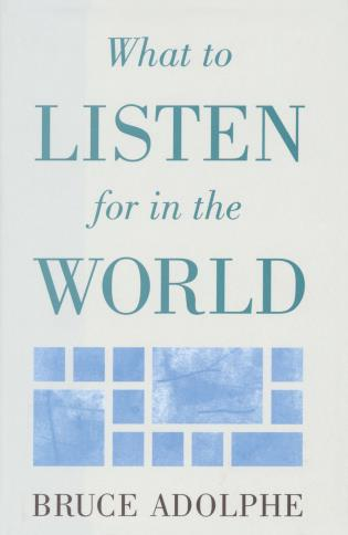 Cover image for the book What to Listen for in the World