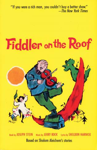 Cover image for the book Fiddler on the Roof: Based on Sholom Aleichem's Stories