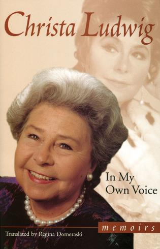 Cover image for the book In My Own Voice: Memoirs