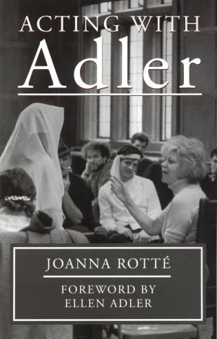 Cover image for the book Acting with Adler